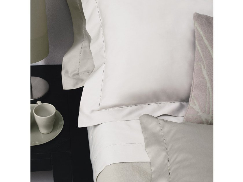 Solid-color cotton bed sheet VENEZIANI | Bed sheet by Adriani e Rossi edizioni