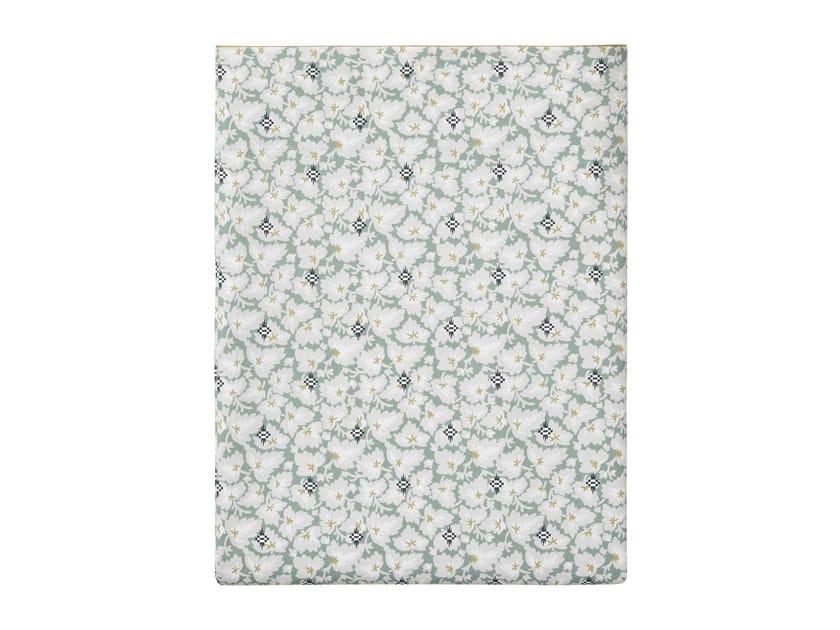 Lenzuola stampato in cotone con motivi floreali FEUILLES D'IKAT   Lenzuola by Alexandre Turpault
