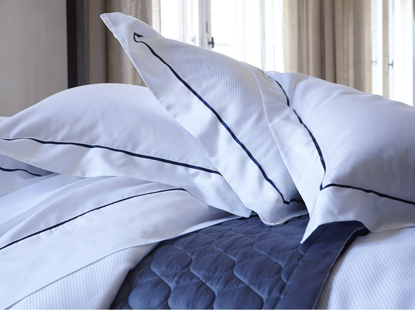 Reversible jacquard cotton bedding set ALMA   Bedding set by Alexandre Turpault