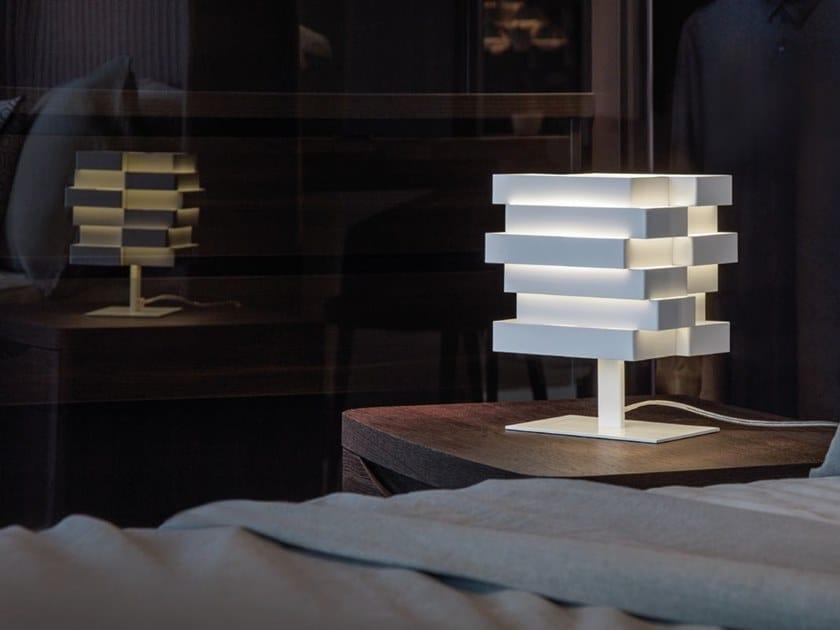 LED aluminium bedside lamp ESCAPE | Bedside lamp by Quadrifoglio