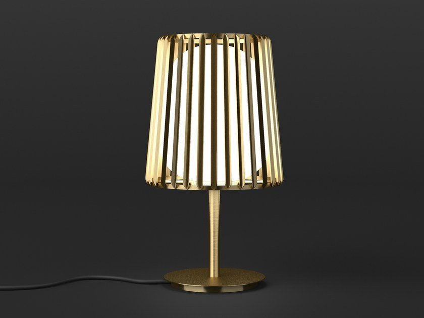 LED direct light brass bedside lamp JULIA | Bedside lamp by Quasar