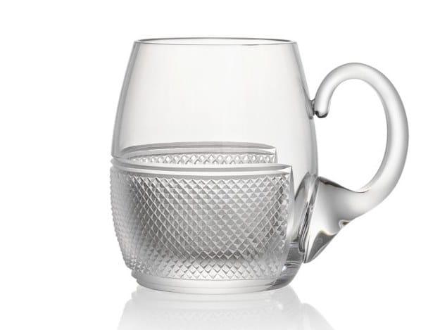Crystal beer glass ELIZABETH | Beer glass by Rückl