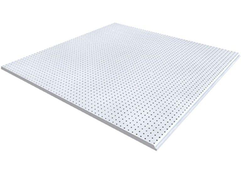 Gypsum ceiling tiles BELGRAVIA MICRO M1 by Knauf Italia