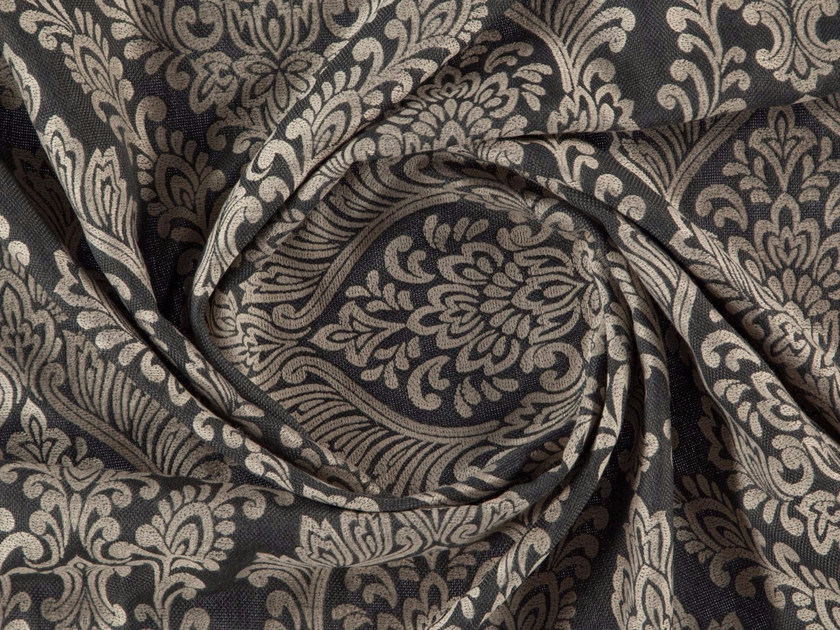 Jacquard washable polyester fabric for curtains BELINA by More Fabrics