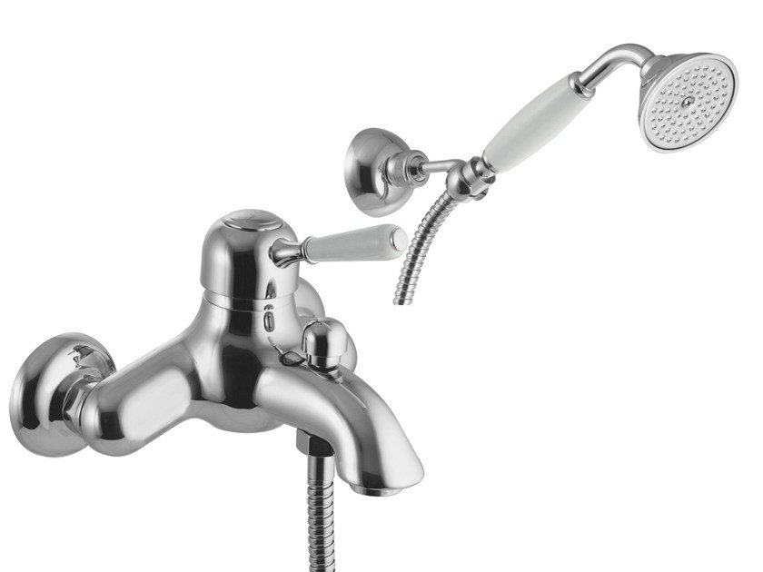 Single handle shower mixer with hand shower BELL F3364 | Shower mixer by FIMA Carlo Frattini