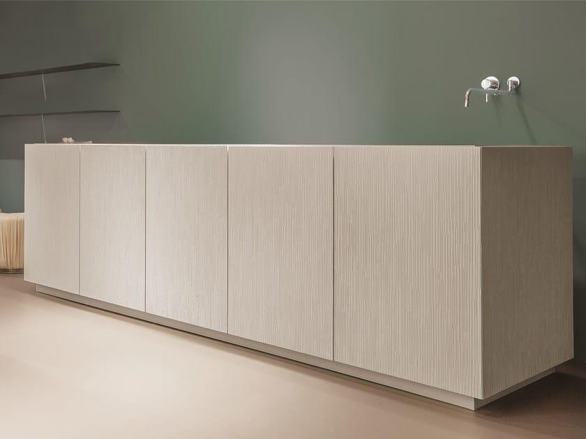 Cucina componibile senza maniglie BELLAGIO Collezione Decor By ...