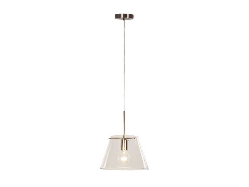 Direct light glass pendant lamp BELL T | Pendant lamp by Aromas del Campo