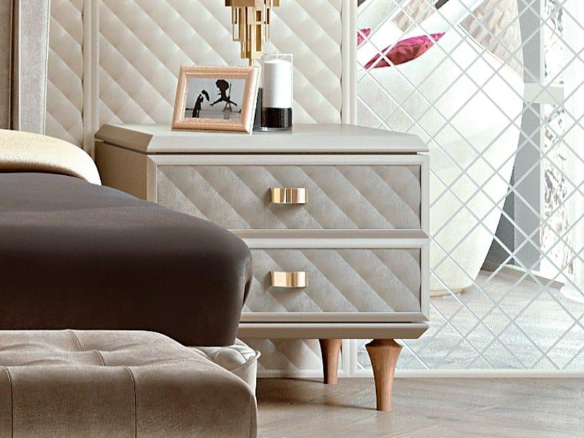 Comodino Classico Di Lusso Legno.Bellagio Home Comodino Collezione Bellagio Home By Scic Design
