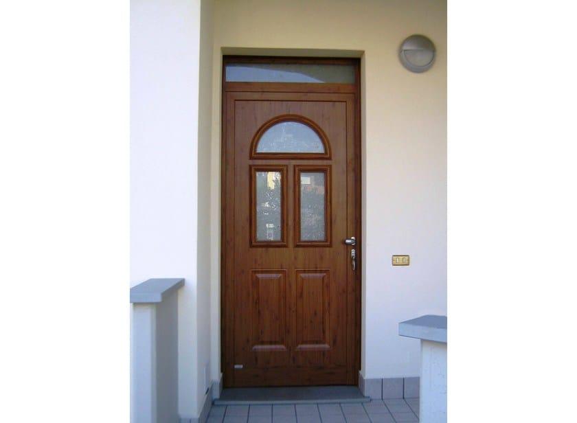 Glass and aluminium door panel BELLATRIX/K3 by ROYAL PAT