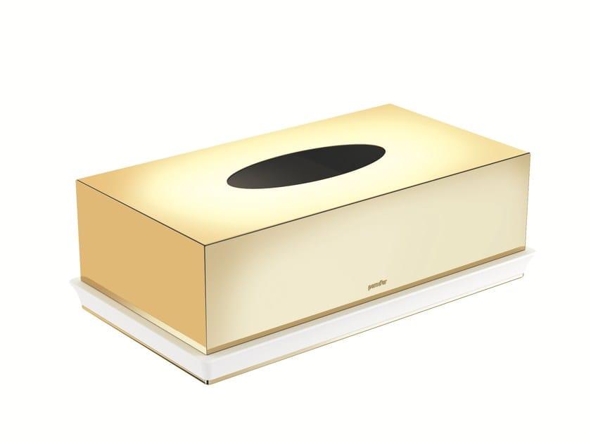 Countertop brass hand towel dispenser BELLE 769401--- | Hand towel dispenser by pomd'or