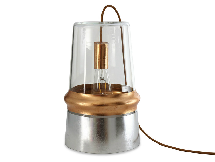 Glass table lamp BELLE D'I CHIC   Table lamp by Hind Rabii