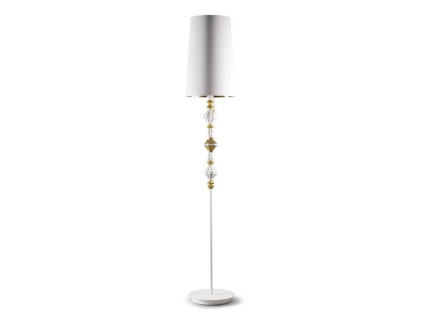 LED porcelain floor lamp BELLE DE NUIT II | Floor lamp by Lladró