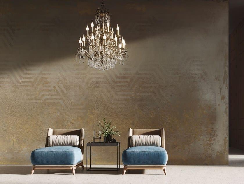 Motif panoramic nonwoven wallpaper BELLEVILLE by Tecnografica