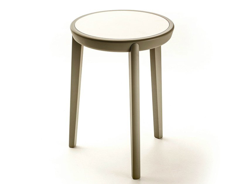 Round HPL coffee table BELLEVUE T02FX by Very Wood