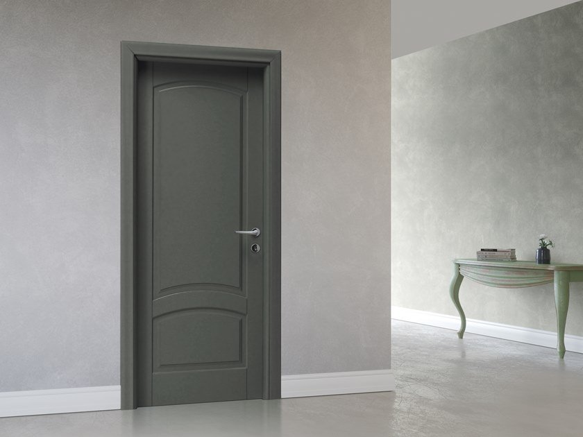 Hinged lacquered door BELLINI by DIERRE