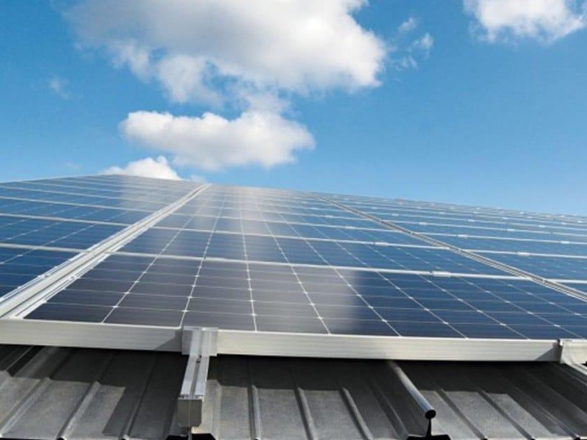 Profili in estruso per l'ancoraggio dei pannelli solari BEMO SOLAR by BEMO