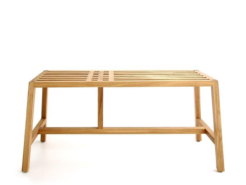 Oak bench TWEEN | Bench by Branca Lisboa