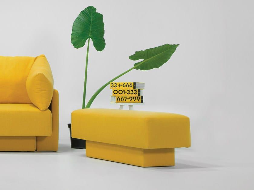 Pouf / bench CHOICE | Rectangular pouf by Feydom