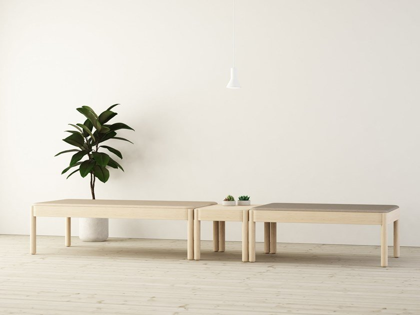 Wooden bench WAKUFURU | Bench by Glimakra of Sweden