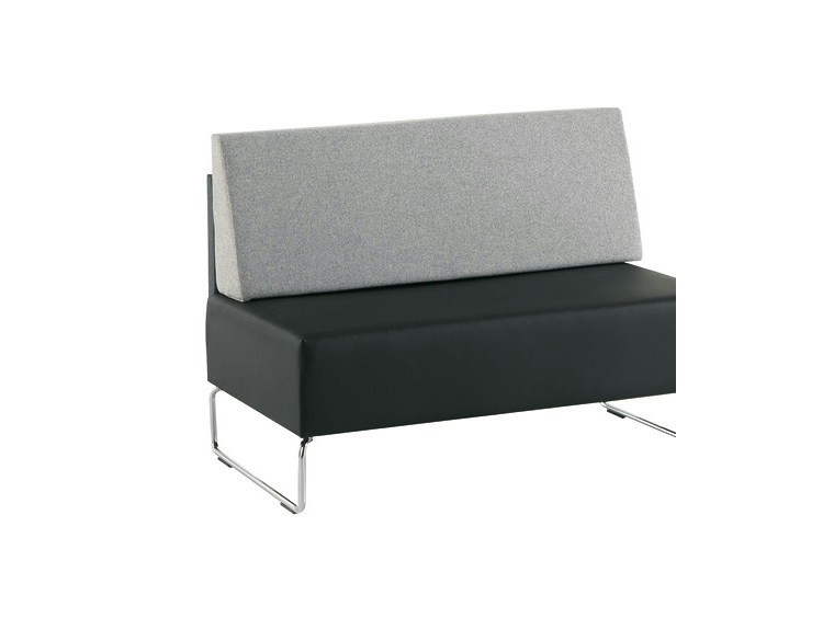 Bench seating with back ANDREW | Bench seating with back by Sesta