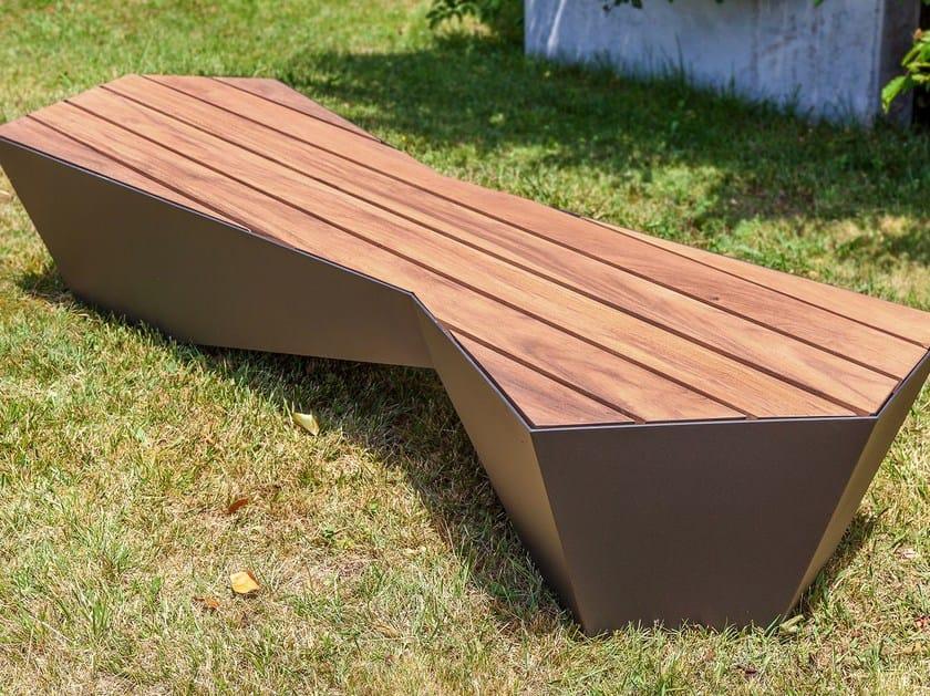 Panchina senza schienale SKEW | Panchina by SIT