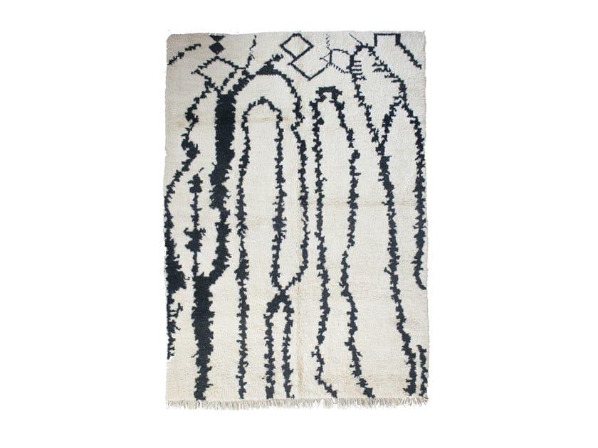 Rectangular wool rug BENI OURAIN TAA1272BE by AFOLKI