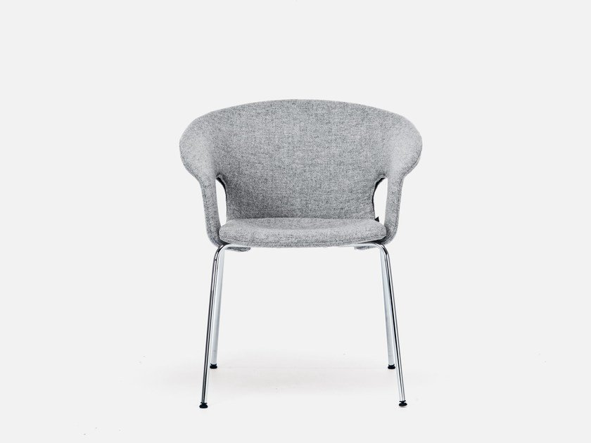 Reception chair with armrests BENNETT | Chair by La Cividina