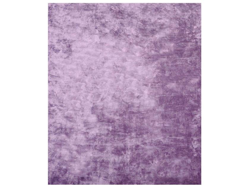 Handmade rectangular rug BENZAL CHLORIDE SIENA EDIT by HENZEL STUDIO