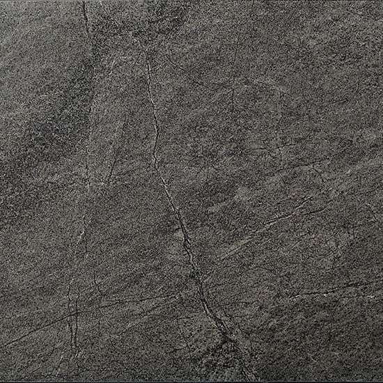 Porcelain stoneware flooring with stone effect BEOLE BLACK by Ceramiche Coem