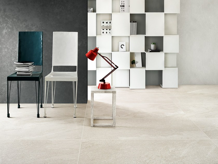 Porcelain stoneware flooring with stone effect BEOLE by Ceramiche Coem