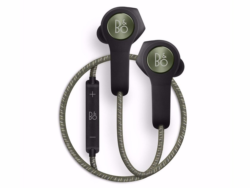 Earphones with rechargeable battery BEOPLAY H5 MOSS GREEN by Bang & Olufsen