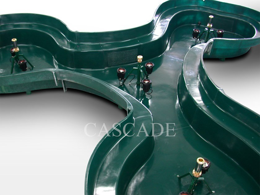 Vasche prefabbricate in materiale composito preassemblate BERMUDA by CASCADE