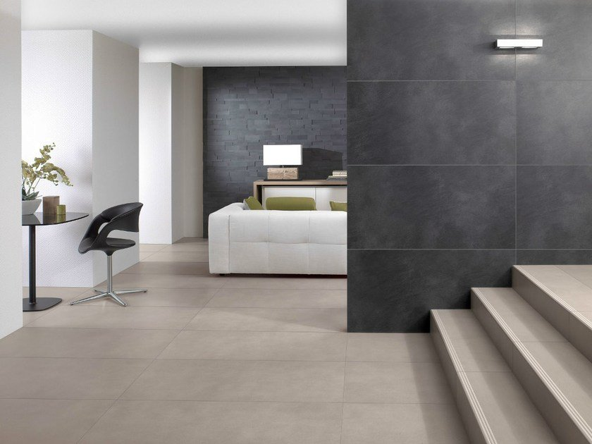 Indoor Porcelain Stoneware Wall Floor Tiles With Stone