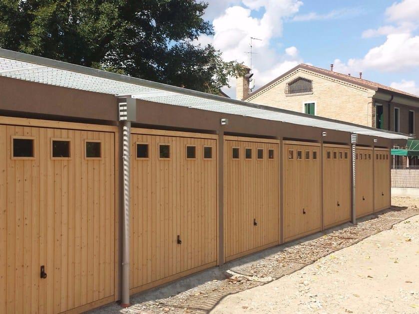 Portone da garage basculante in abete BERRY | Portone da garage in legno by HÖRMANN ITALIA