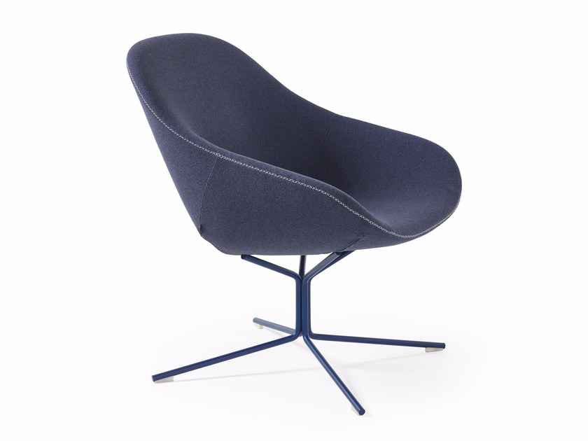 Poltroncina a 4 razze BESO LOUNGE by Artifort