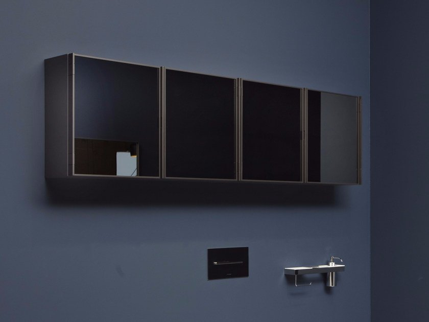 Wall Mounted Bathroom Mirror With Cabinet Bespoke Mirror With