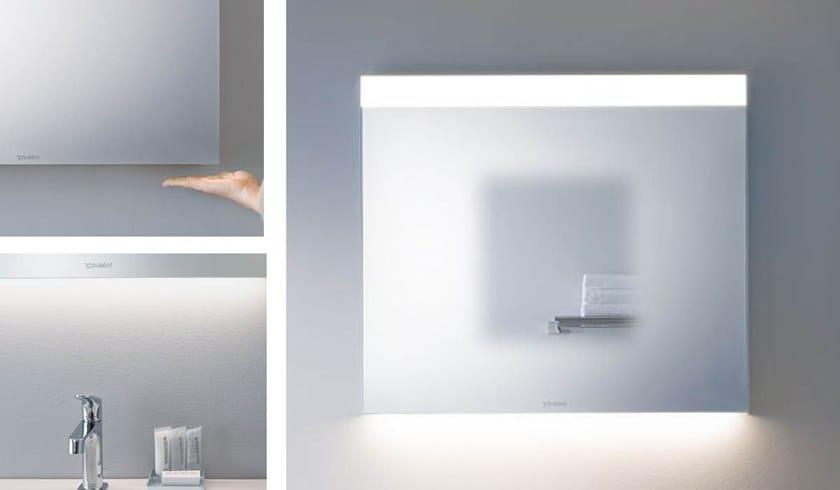 Specchio con illuminazione integrata da parete per bagno best