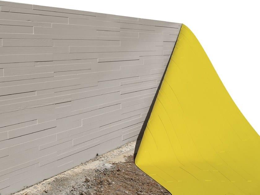 Matrice per parete facciavista in calcestruzzo effetto legno BETON-UNO W74 by Beton Uno