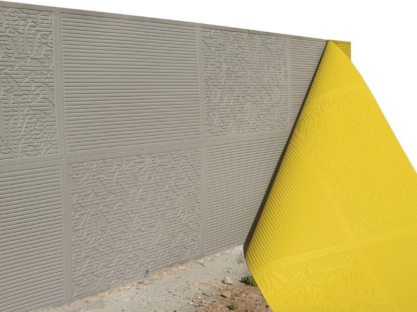 Матрица для бетона выпучивание бетона