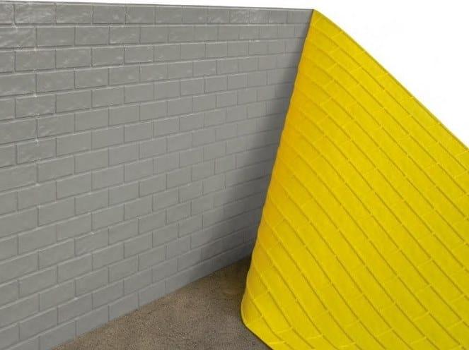 Matrice per parete facciavista calcestruzzo effetto pietra BETON-UNO S82 by Beton Uno