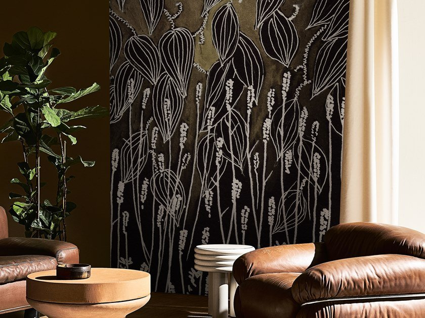 Wallpaper with floral pattern BETTER THEN EVER by Wall&decò