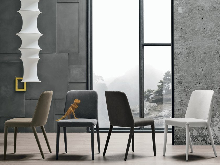 Upholstered chair BETTY by Gruppo Tomasella