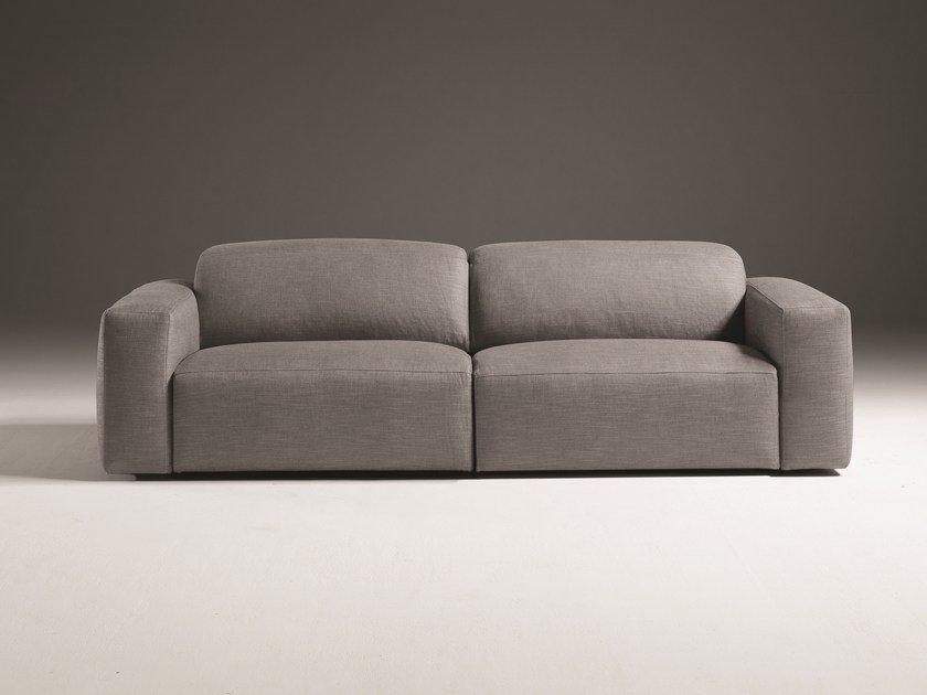 Relaxing 3 Seater Fabric Sofa With Removable Cover BEVERLY | Fabric Sofa By  Egoitaliano