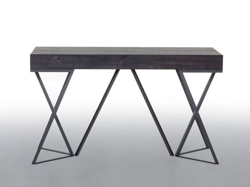 Extending rectangular console table BEVERLY by Tonin Casa