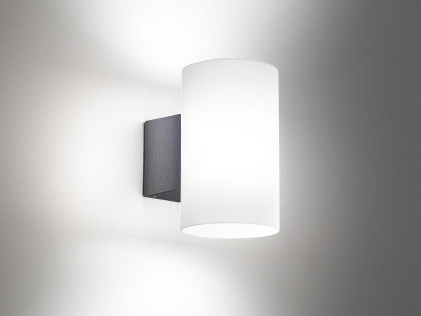 LED die cast aluminium wall lamp BIANCA by Ailati Lights