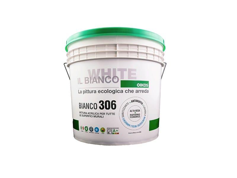Idropittura traspirante BIANCO 306 by OIKOS WHITE