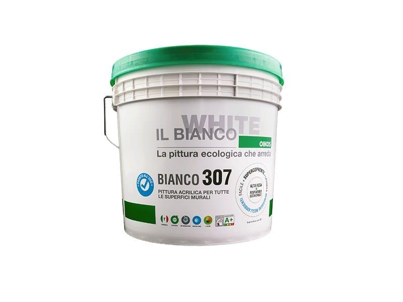 Idropittura traspirante BIANCO 307 by OIKOS WHITE
