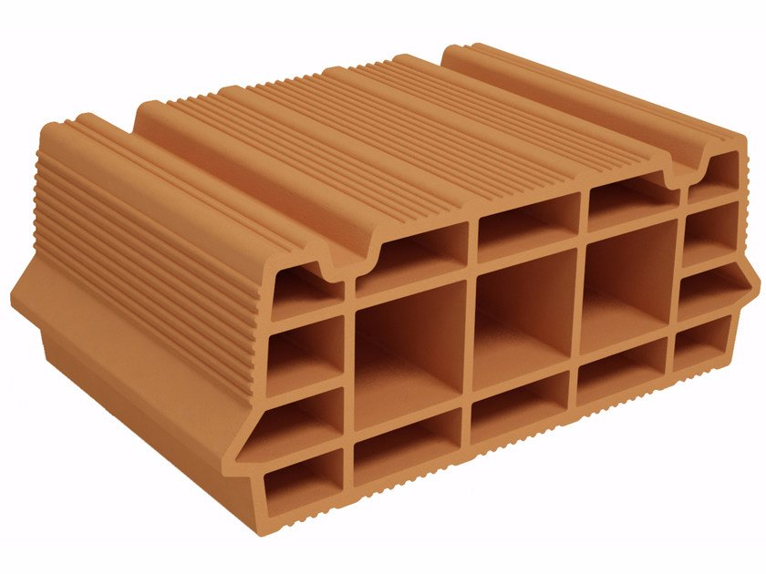 Hollow clay floor slab block BIC S160 by Fornaci Ioniche