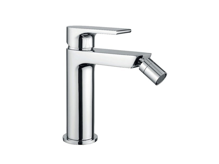 Single handle bidet tap with swivel spout Bidet tap by EVER Life Design