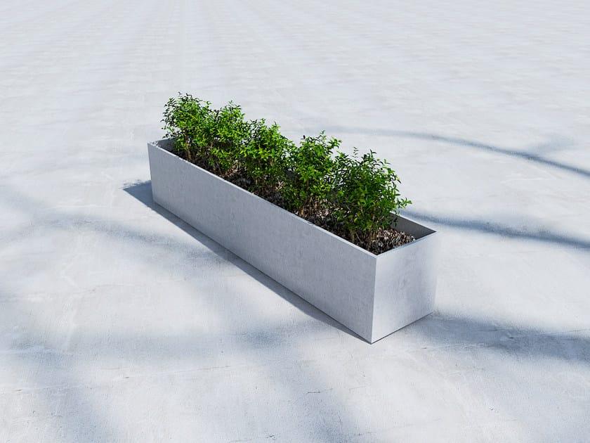 Fiber cement Flower pot BIG BOX by SIT